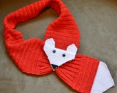 PATTERN ONLY:Crocheted Foxy Stole