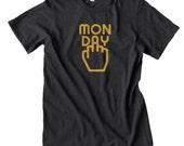 Monday Sucks Funny T shirt funny tops and tees t-shirts t shirts| Free Shipping