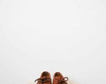 80s leather rockport docksiders   Size 7