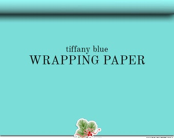 tiffany blue wrapping paper Find all your holiday gift wrapping here - christmas wrapping paper, gifts bags green and blue yarn has been braided together to create this holiday gift wrap.