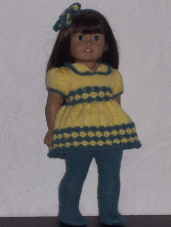 Knitting Patterns For Our Generation Dolls : Dolls Clothes PDF knitting pattern for 18 to 19 inch dolls ...
