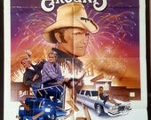What Comes Around - Vintage Comedy Movie Poster - 1985 - Original - Jerry Reed