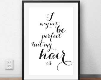 Hair Salon Wall Decor beauty salon decor | etsy