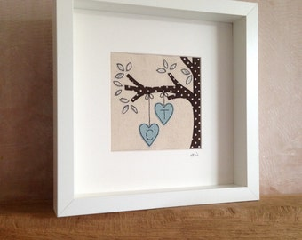 Hanging Hearts Picture