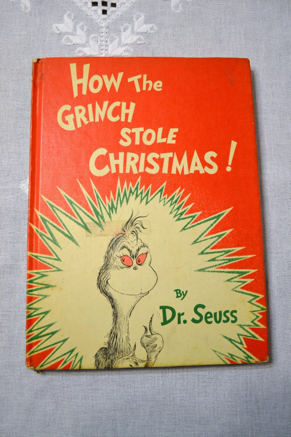 vintage how the grinch stole christmas book 1957 dr seuss