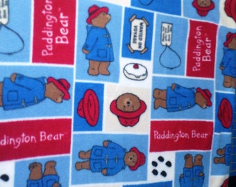Paddington Bear Fleece Throw