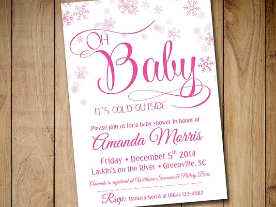 Baby Shower Invitation Template Download By Paintthedaydesigns