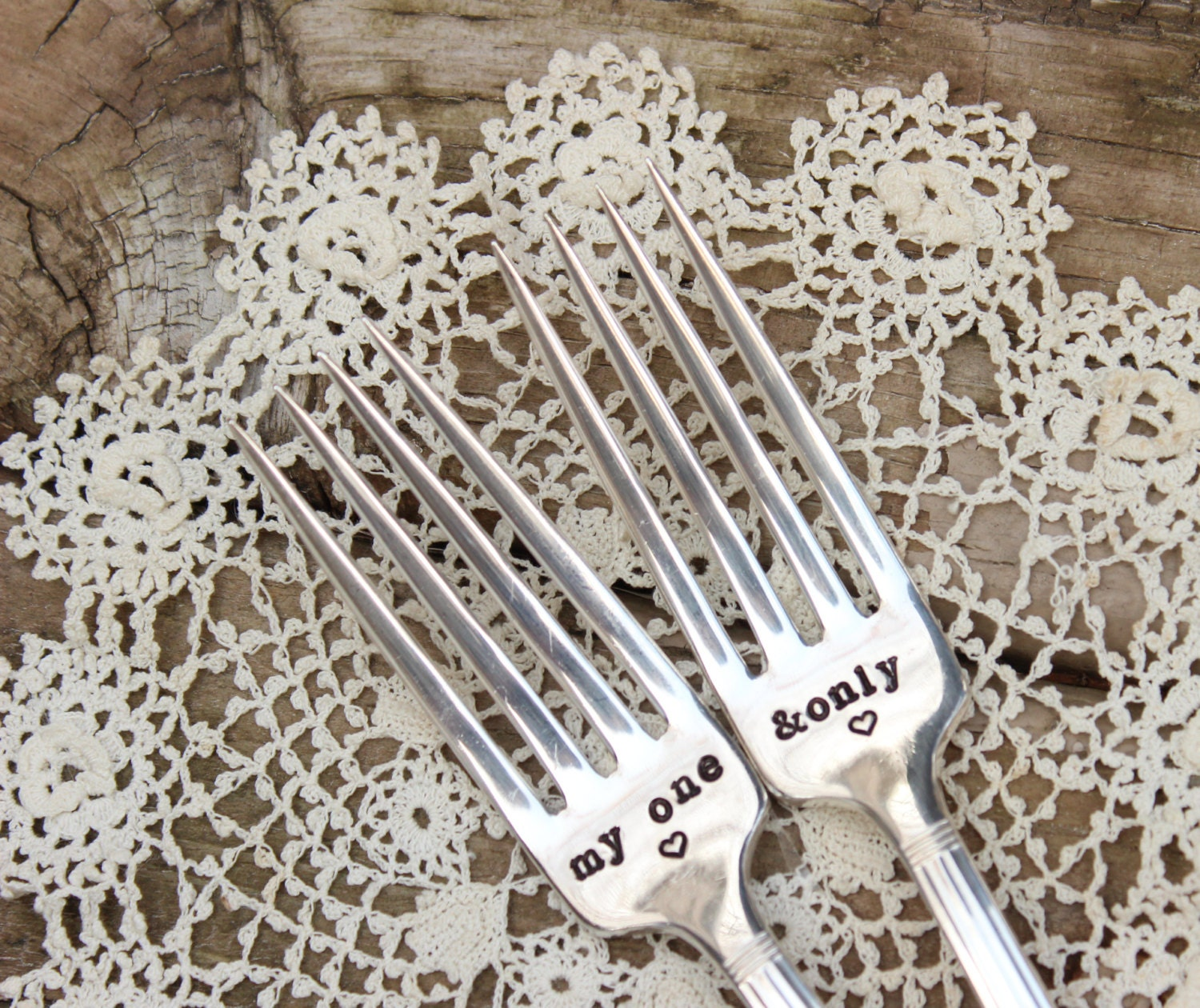 Bride And Groom Only Wedding Ideas: My One And Only Wedding Forks Bride Groom Cake Dinner Hand