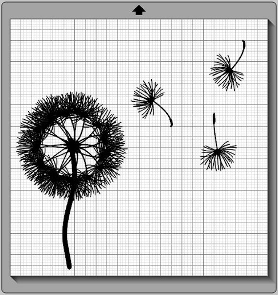 Dandelion Seeds Wall Decal Svg Png And By Mentalepisodes