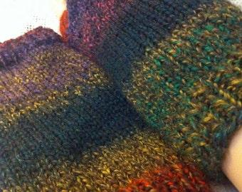 Marble Fingerless Arm Gloves