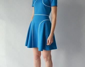 Ponte roma jersey dress