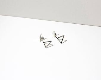 Triangle Reverse Earrings