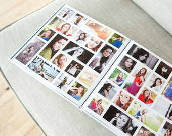 Clean 10x10 Album I - Photoshop Template Download by Photographer Cafe
