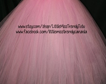 Pink Flower Girl Tutu Dress, Pink Tutu Dress, Flower Girl Tutu Dress, Pink Tutu, Pink Birthday Tutu Dress, Pink Dress, Flower girl Dress