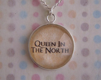 Game of Thrones Queen in the North Necklace