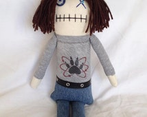 "Creepy n Cute Zombie Doll - ""Carl Grimes"" - Inspired by TWD (D)"