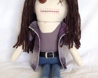"Creepy n Cute Zombie Doll - ""Lori Grimes"" - Inspired by TWD (P)"