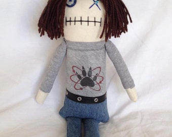 Carl Grimes - Inspired by TWD - Creepy n Cute Zombie Doll (D)