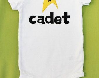 Star Trek Onesie and Toddler Shirt