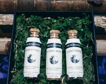 3 Herb Bottles