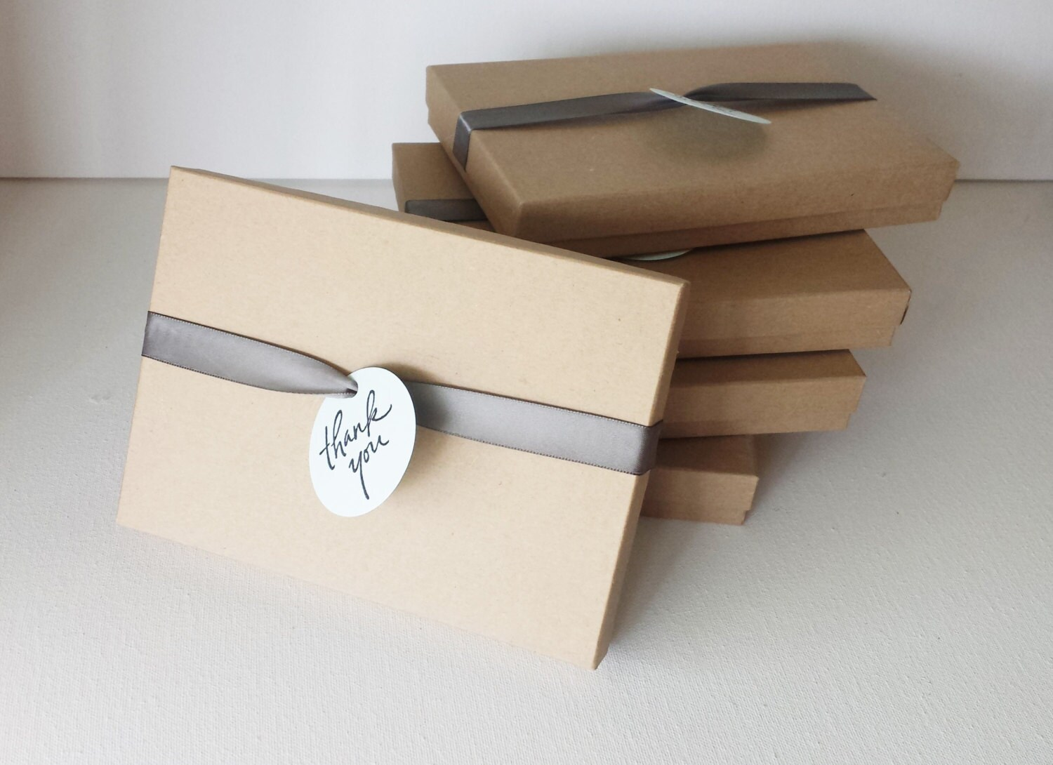 Favor Gift Boxes: 7 X 5 Inches Thank You Gift Box Favor Boxes Thank You Favor