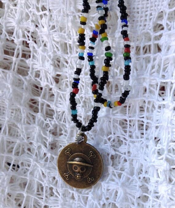 Antique Bronze Skeleton Necklace Dragon Nebula Jewelry Reversible Galaxy Necklace