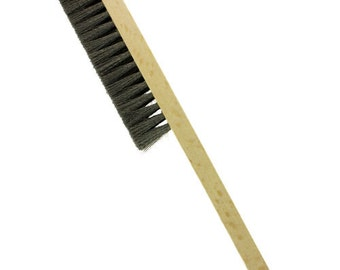 Steel Hand Brush with 4 Row - Made in Germany  (BU967)
