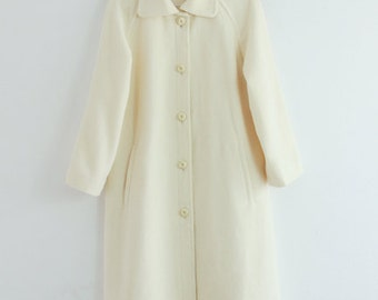 SALE/White Wool coat/jacket/New with tags