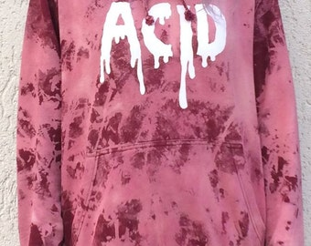 acid hoodie, smiley, lsd, festival, hippie, goa, dance, batik, tie dye, nature, ethno, hipster, yoga