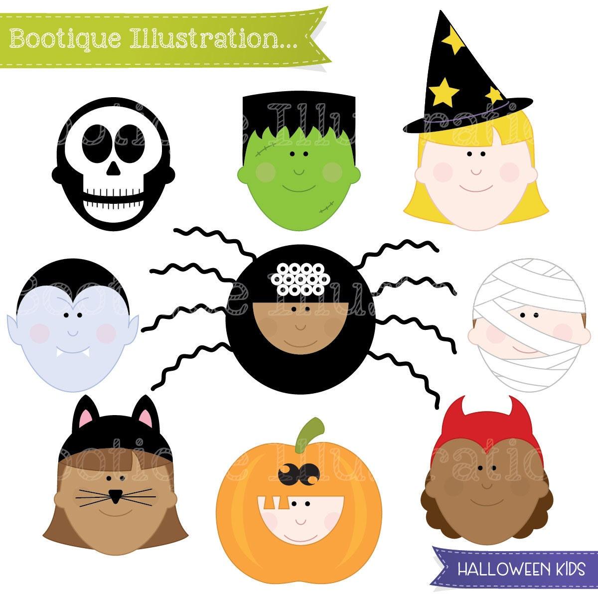 halloween clipart halloween kids clipart halloween clip art rh bootiqueillustrationclipart wordpress com Trick or Treat Clip Art Bat Clip Art