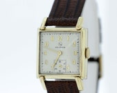 Helbros Wrist Watch 10K Rolled Gold Plated