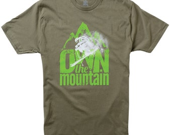 Own The Mountain Ski T-Shirt