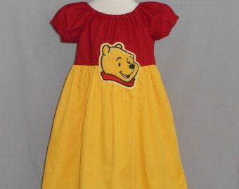 Winnie the Pooh Inspired Dress