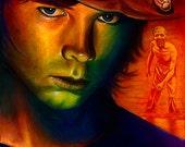 """Carl - 11"""" x 14"""" Walking Dead poster"""