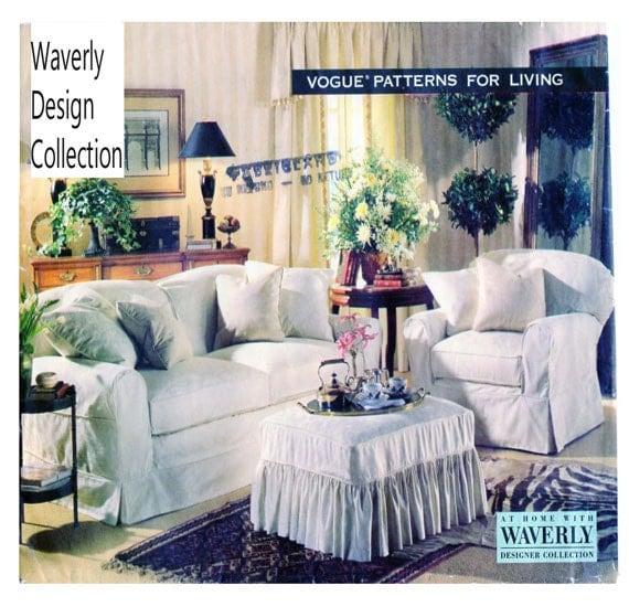 Vogue 1388 Waverly Designer Collection Diy Furniture Slip