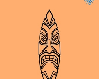 Popular Items For Tiki Decal On Etsy
