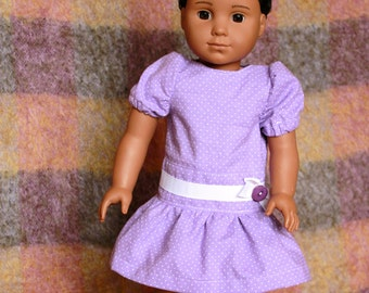 American Girl dress, AG doll clothes american girl doll dress, doll dress, AG doll dress, Doll clothes, Doll summer dress,  Pink doll dress,