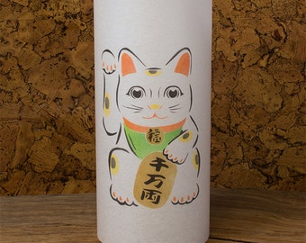 Maneki neko - Maneki neko charm - Maneki neko statue - Japanese Maneki neko lamp