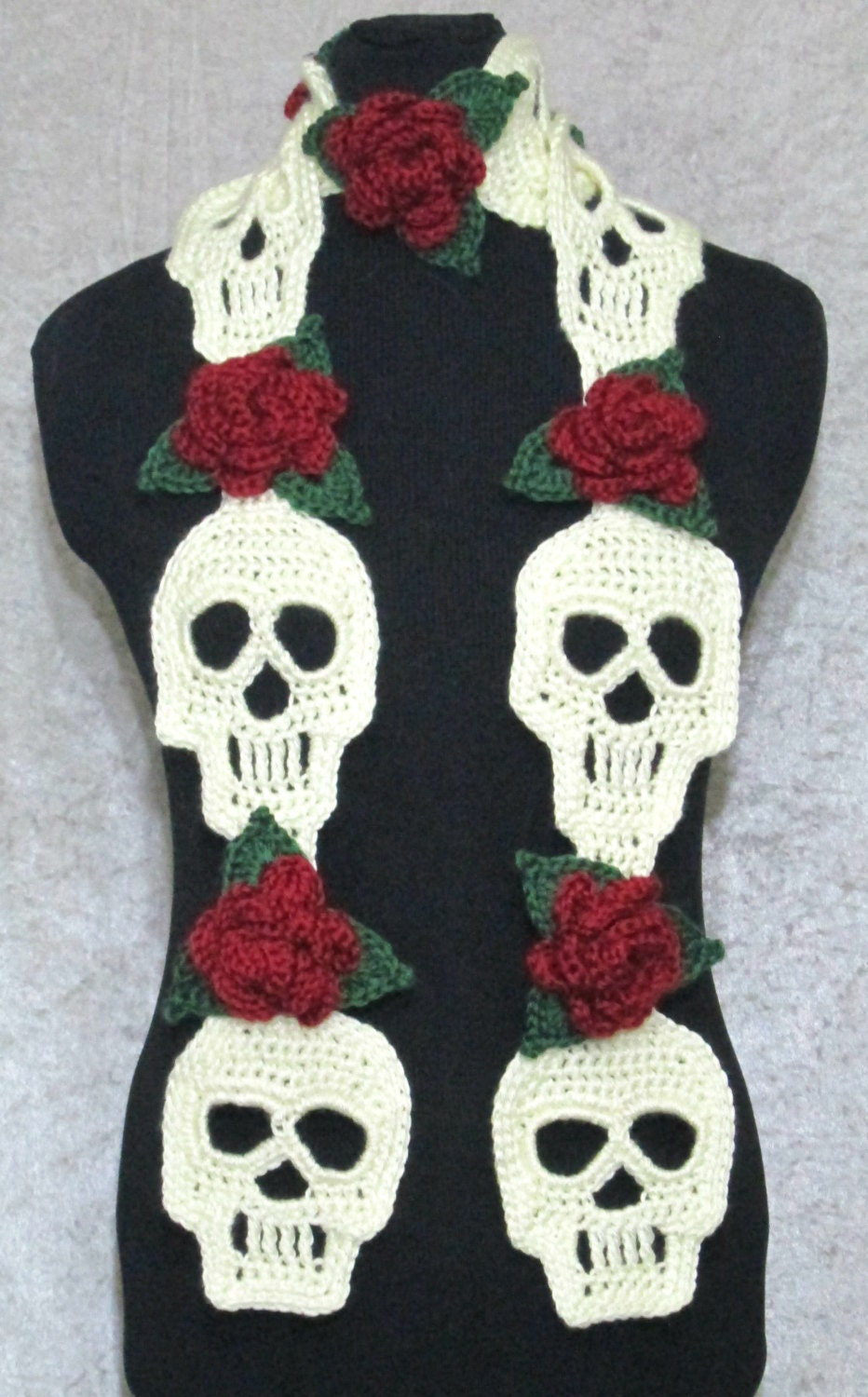 Crochet Pattern For Skull Shawl : Kitchen & Dining