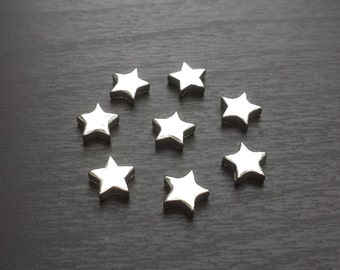 Silver Star Floating Charm for Floating Lockets-Star Charm-Gift Idea