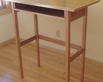 The Standing Scholar's Desk in Cherry