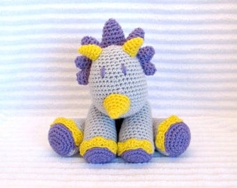 Crochet Dino Stuffed Animal, Crochet Animal, Stuffed Dinosaur , Crochet Stuffed Animal, Dinosaur Nursery, Dinosaur Stuffed Animal, Baby Girl