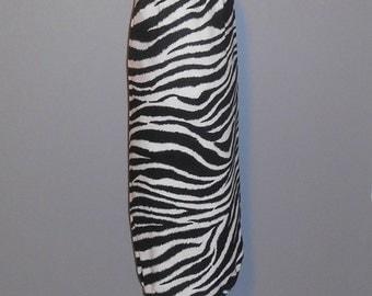 Grocery Bag Holder - Plastic Bag Holder -  Bag Dispenser - Zebra Print