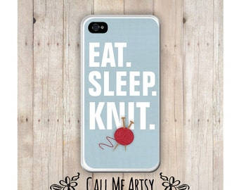 Knitting iPhone Case, Knitters Phone Case, , iPhone 6 Case, iPhone 4 Case, Knitter iPhone Case, iPhone 5C Case, Funny iPhone 4 Case,