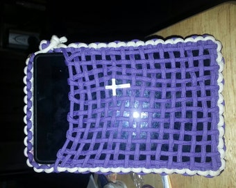 Handcrafted 550 paracord e-reader case cover