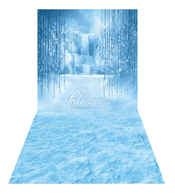Items Similar To Frozen Enchanted Forest Backdrop Perfect