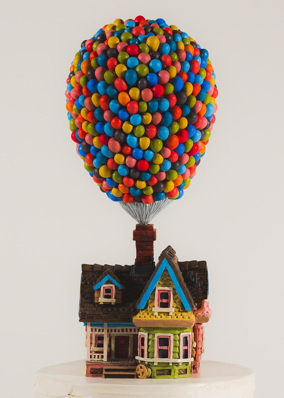 Pixar S Up House Cake Topper