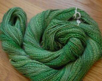 SPORT, Handspun Yarn, Merino, Silk, 3-ply, 3.8 oz (108 g), 254 yds (232 m)