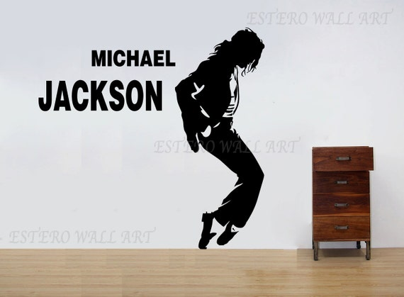 michael jackson removable wall stickers removable wall wallstickers folies other