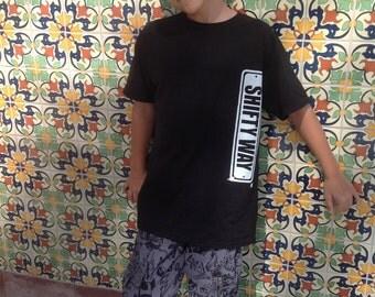 Shifty Way black logo T-Shirt